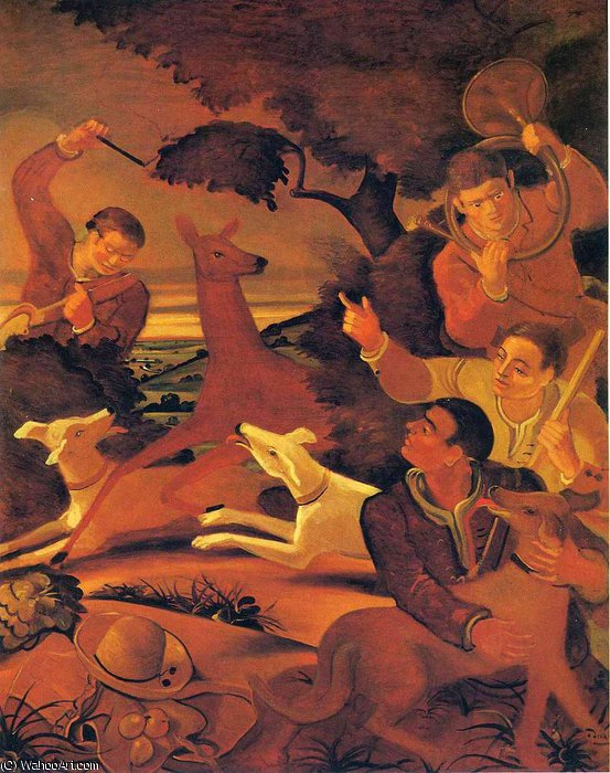 untitled (8343) by André Derain (1880-1954, France) | Oil Painting | WahooArt.com