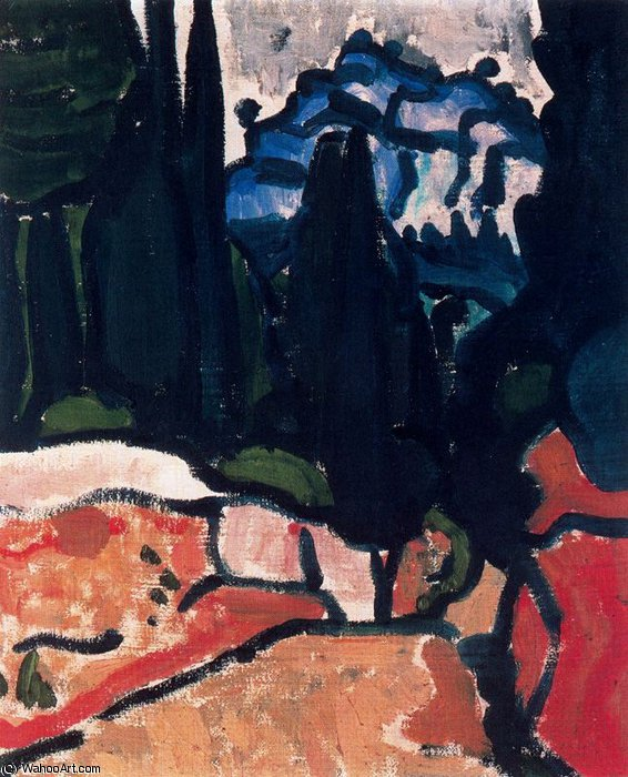 untitled (8283) by André Derain (1880-1954, France)
