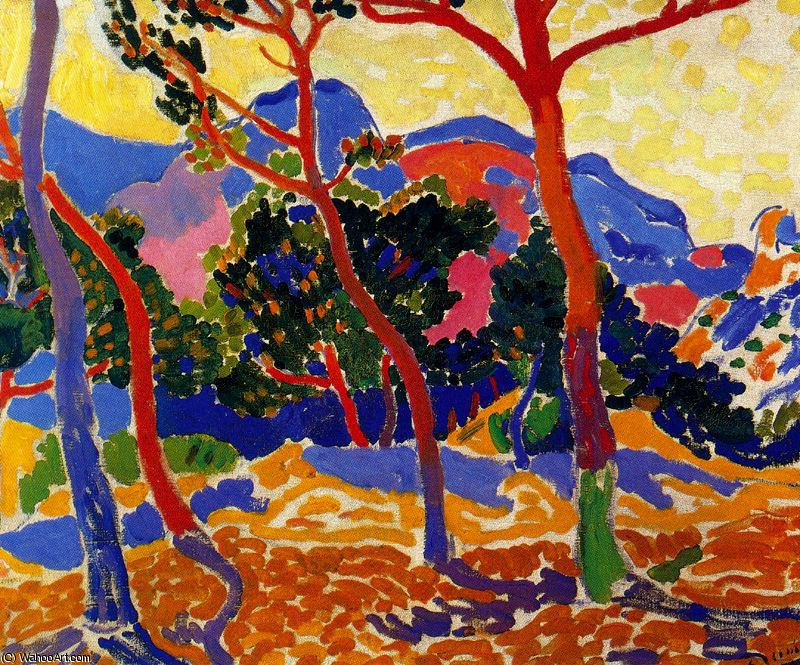 untitled (4393) by André Derain (1880-1954, France) | WahooArt.com
