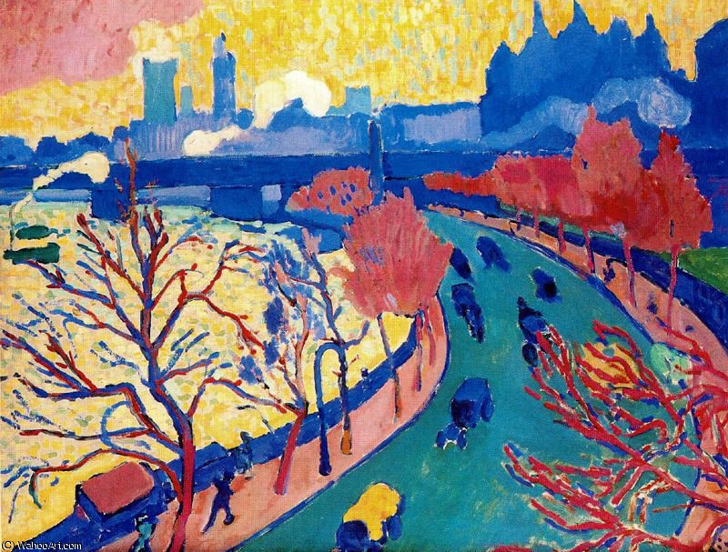 untitled (6612) by André Derain (1880-1954, France) | Art Reproduction | WahooArt.com