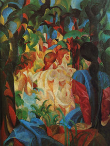 August Macke - untitled (5377)