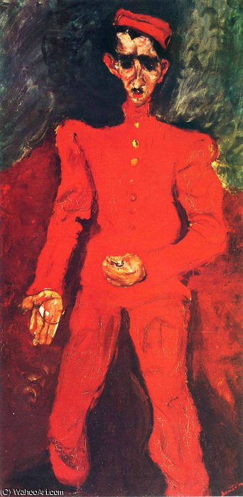 untitled (3759) by Chaim Soutine (1894-1943, Russia) | Oil Painting | WahooArt.com