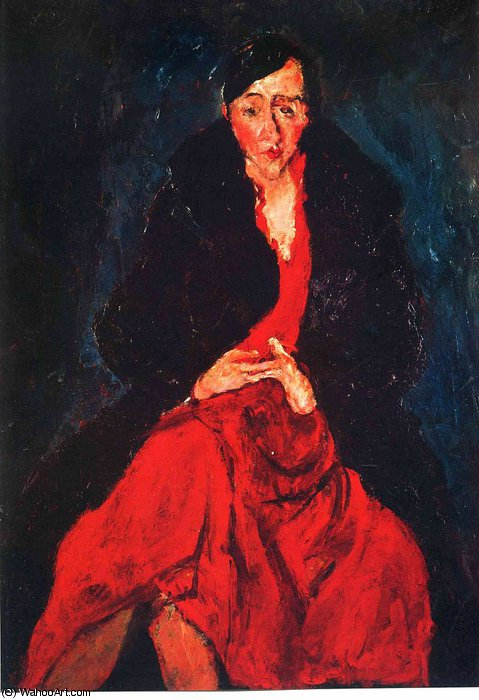 Order Museum Quality Reproductions : untitled (6369) by Chaim Soutine (1894-1943, Russia) | WahooArt.com