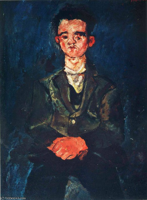 untitled (8701) by Chaim Soutine (1894-1943, Russia) | Famous Paintings Reproductions | WahooArt.com