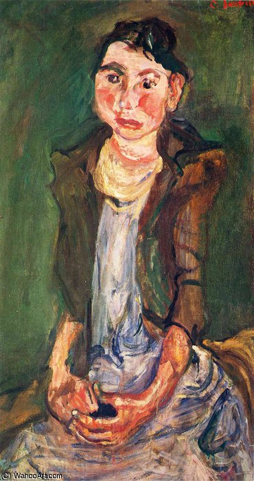 untitled (8824) by Chaim Soutine (1894-1943, Russia) | Oil Painting | WahooArt.com