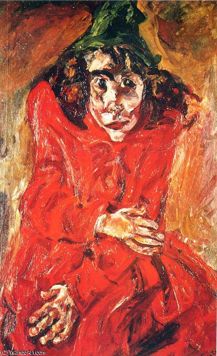 untitled (1411) by Chaim Soutine (1894-1943, Russia) | Oil Painting | WahooArt.com