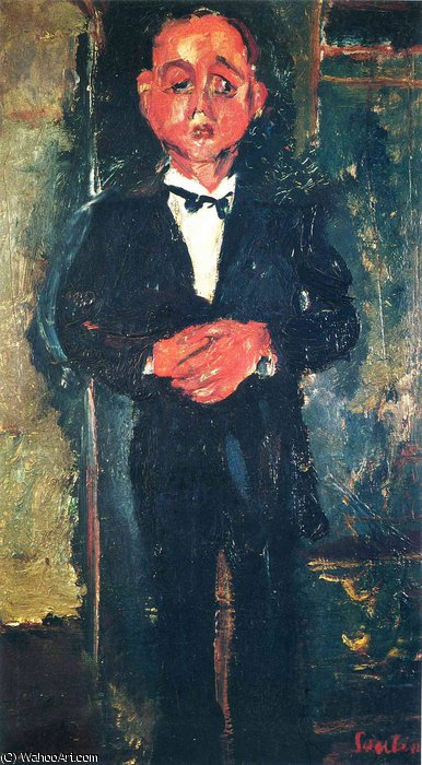 untitled (484) by Chaim Soutine (1894-1943, Russia) | Art Reproduction | WahooArt.com
