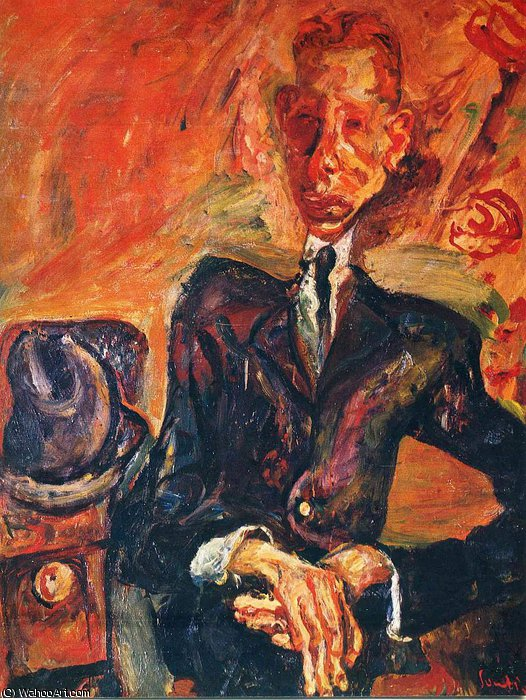 untitled (2161) by Chaim Soutine (1894-1943, Russia) | Museum Quality Reproductions | WahooArt.com