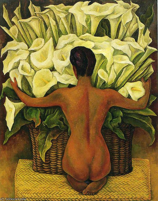 untitled (8108) by Diego Rivera (1886-1957, Mexico) |  | WahooArt.com