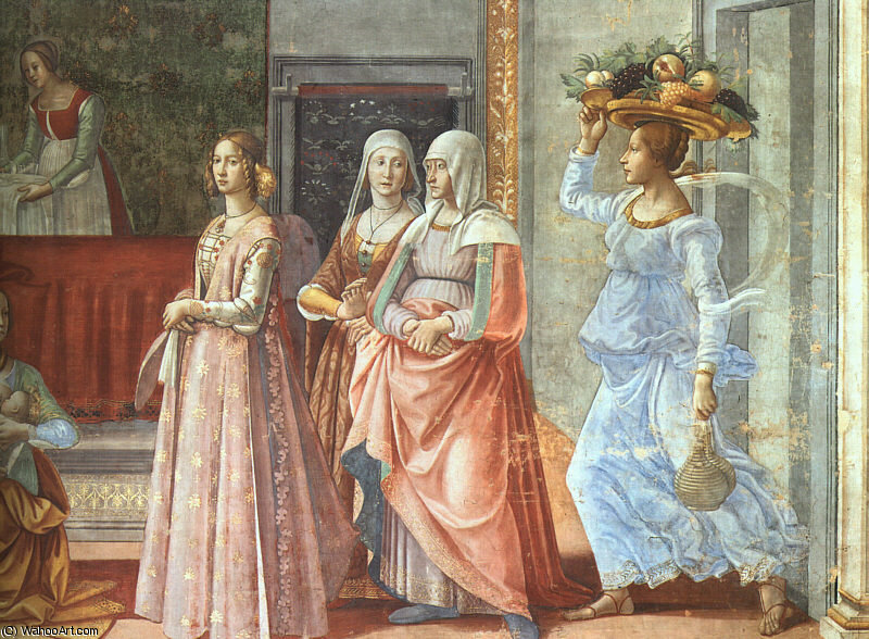 untitled (5430) by Domenico Ghirlandaio (1449-1494, Italy)