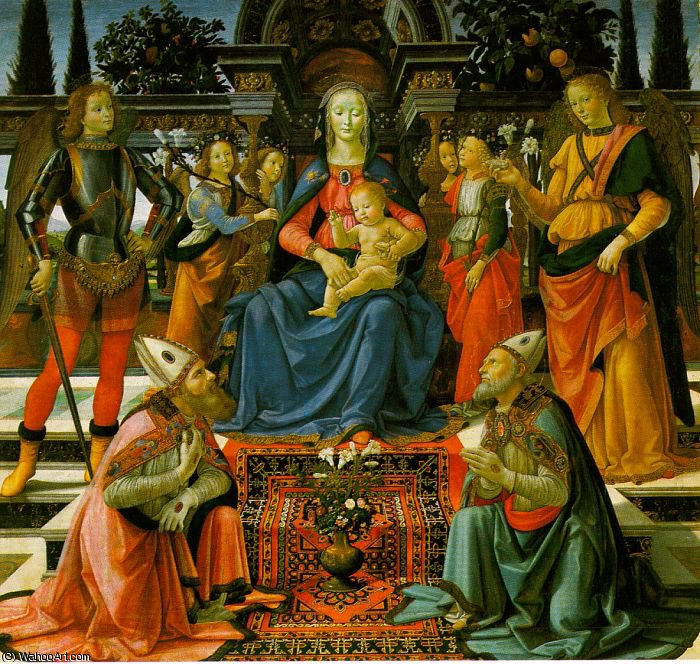 untitled (8661) by Domenico Ghirlandaio (1449-1494, Italy) | Art Reproduction | WahooArt.com