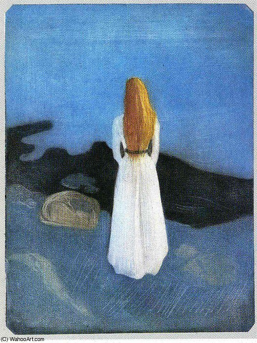Order Reproductions | untitled (3496) by Edvard Munch (1863-1944, Sweden) | WahooArt.com