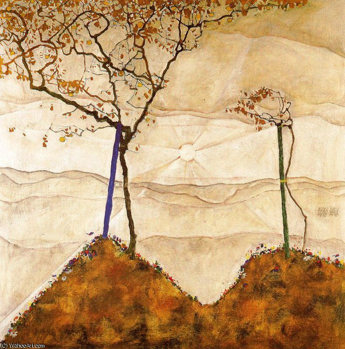 untitled (697) by Egon Schiele (1890-1918, Croatia) | Art Reproductions Egon Schiele | WahooArt.com