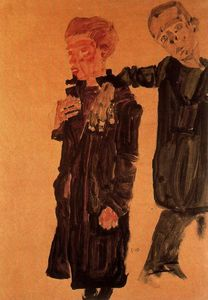 Egon Schiele - untitled (1030)