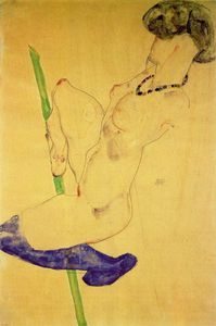 Egon Schiele - untitled (657)