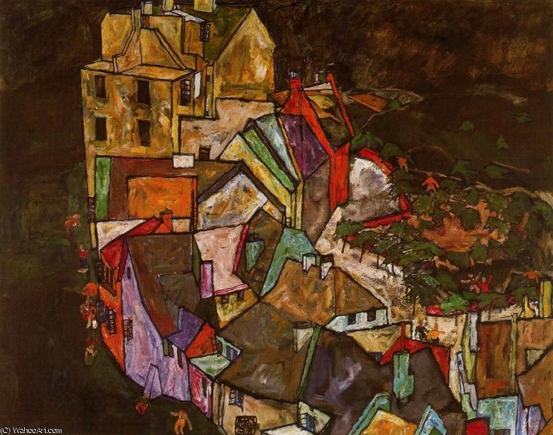 untitled (1417) by Egon Schiele (1890-1918, Croatia) | Reproductions Egon Schiele | WahooArt.com