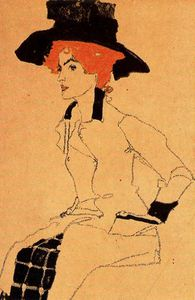 Egon Schiele - untitled (7445)