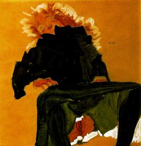 Egon Schiele - untitled (9409)