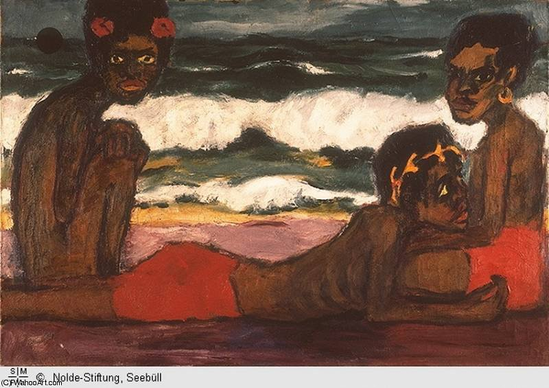 untitled (2991) by Emile Nolde (1867-1956, Germany) |  | WahooArt.com