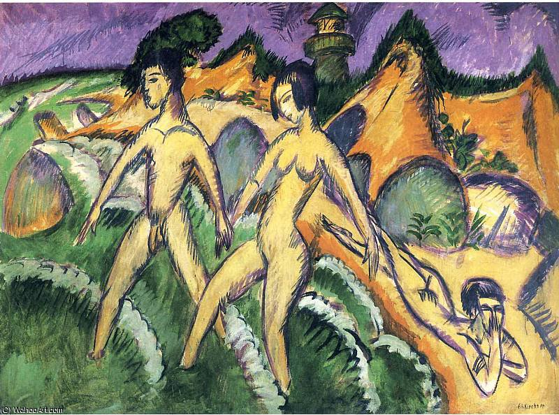 untitled (7458) by Ernst Ludwig Kirchner (1880-1938, Germany)