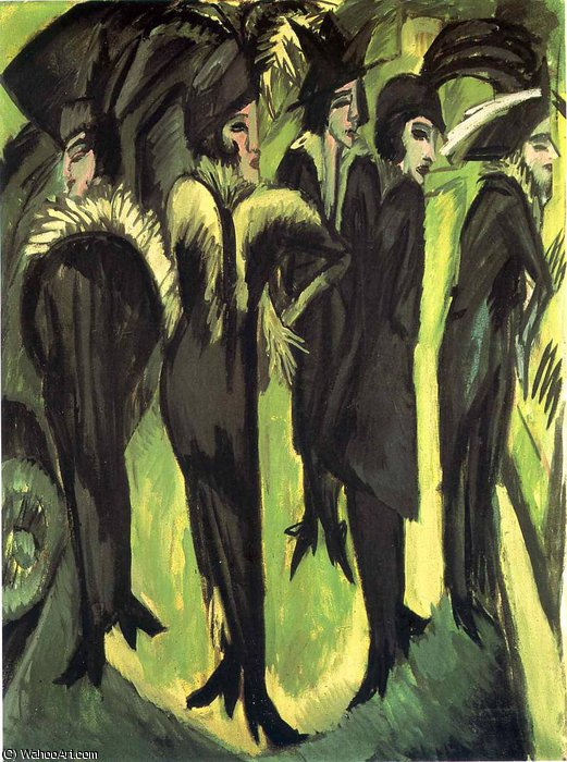 untitled (2849) by Ernst Ludwig Kirchner (1880-1938, Germany)