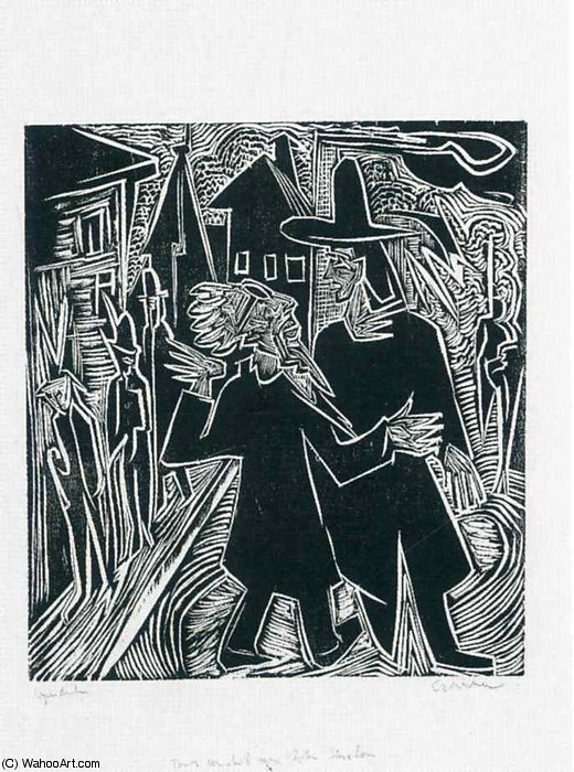 untitled (1301) by Ernst Ludwig Kirchner (1880-1938, Germany)