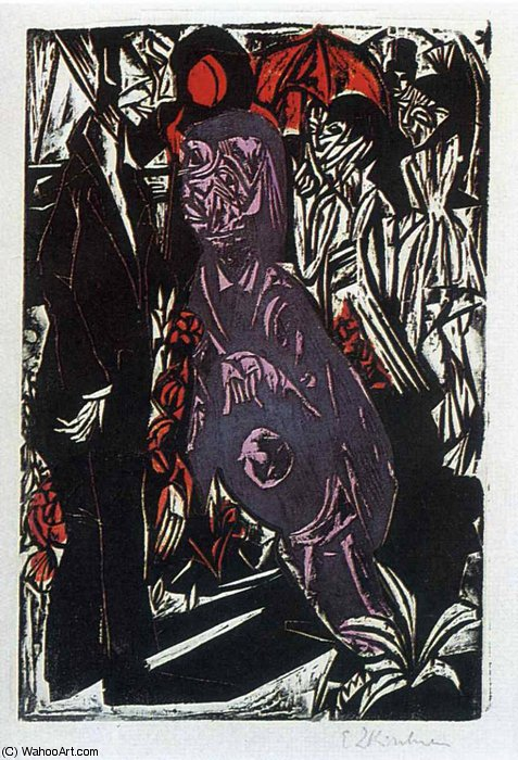 untitled (5933) by Ernst Ludwig Kirchner (1880-1938, Germany)