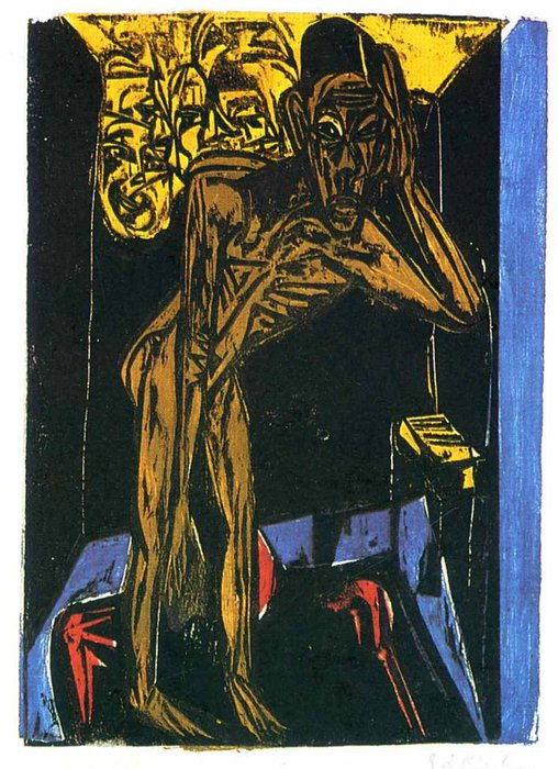 untitled (6659) by Ernst Ludwig Kirchner (1880-1938, Germany)