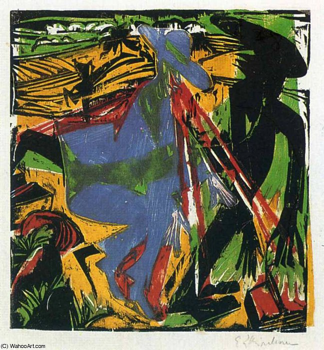 untitled (5093) by Ernst Ludwig Kirchner (1880-1938, Germany)