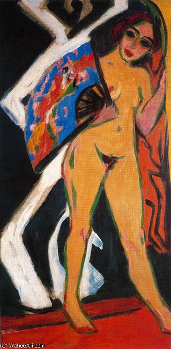 untitled (3704) by Ernst Ludwig Kirchner (1880-1938, Germany)
