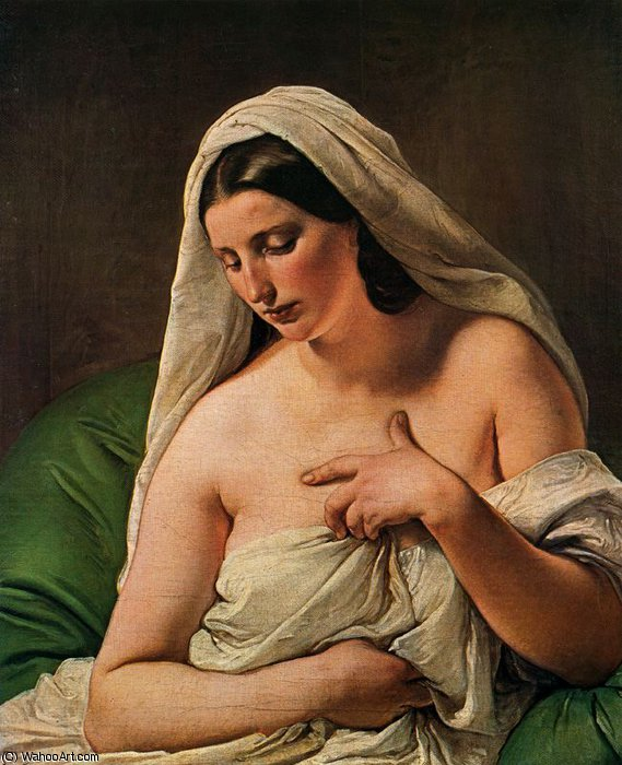 untitled (1990) by Francesco Hayez (1791-1882, Italy) | Museum Quality Reproductions | WahooArt.com