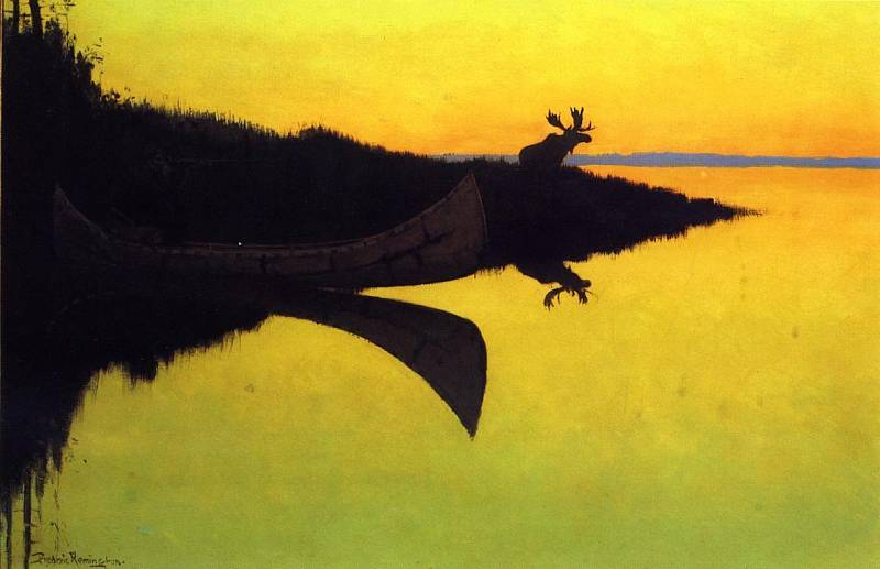untitled (5114) by Frederic Remington (1861-1909, United States)