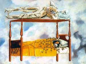 Frida Kahlo - The Dream (The Bed)