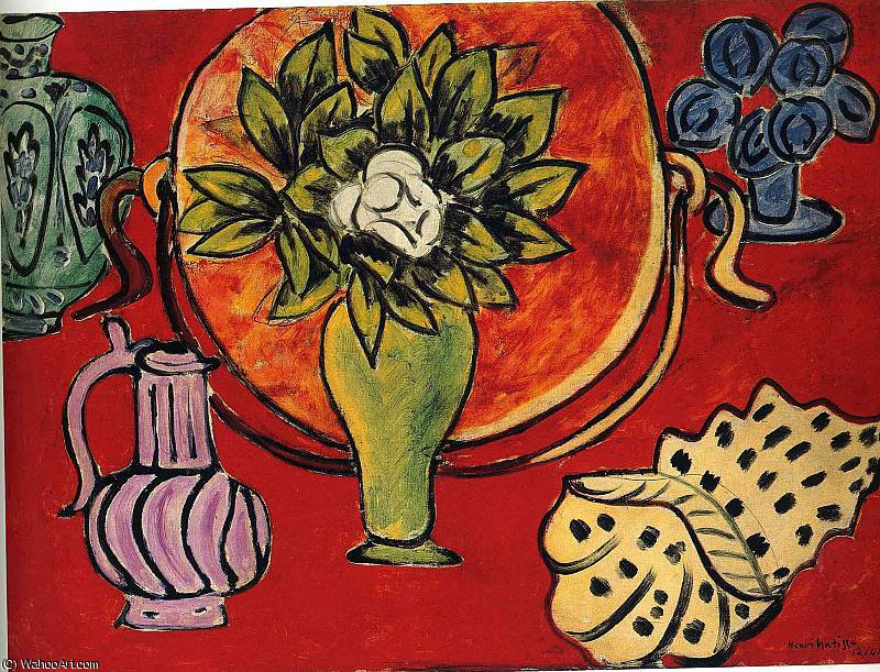 untitled (9108) by Henri Matisse (1869-1954, France) | WahooArt.com