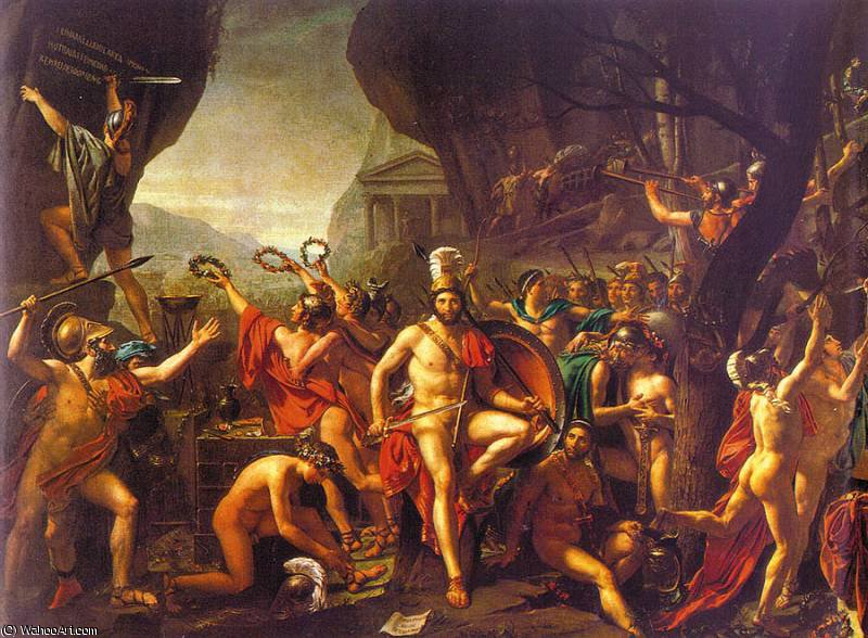 untitled (1714) by Jacques Louis David (1748-1800, France) | Painting Copy | WahooArt.com