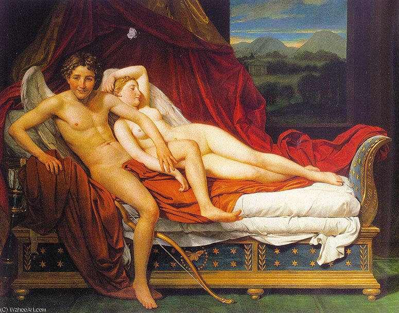 untitled (6296) by Jacques Louis David (1748-1800, France) | Famous Paintings Reproductions | WahooArt.com