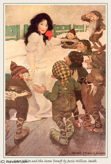 untitled (421) by Jessie Willcox Smith (1863-1935, United States) | Art Reproduction | WahooArt.com