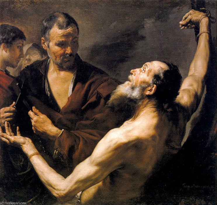 Buy Museum Art Reproductions | untitled (7982) by Jusepe De Ribera (Lo Spagnoletto) (1591-1652, Spain) | WahooArt.com