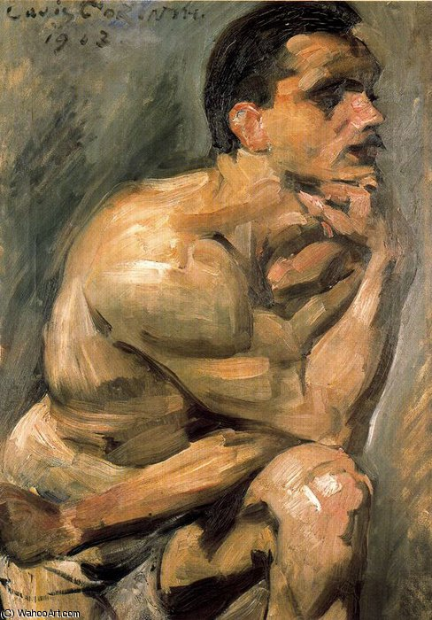 untitled (1271) by Lovis Corinth (Franz Heinrich Louis) (1858-1925, Netherlands)