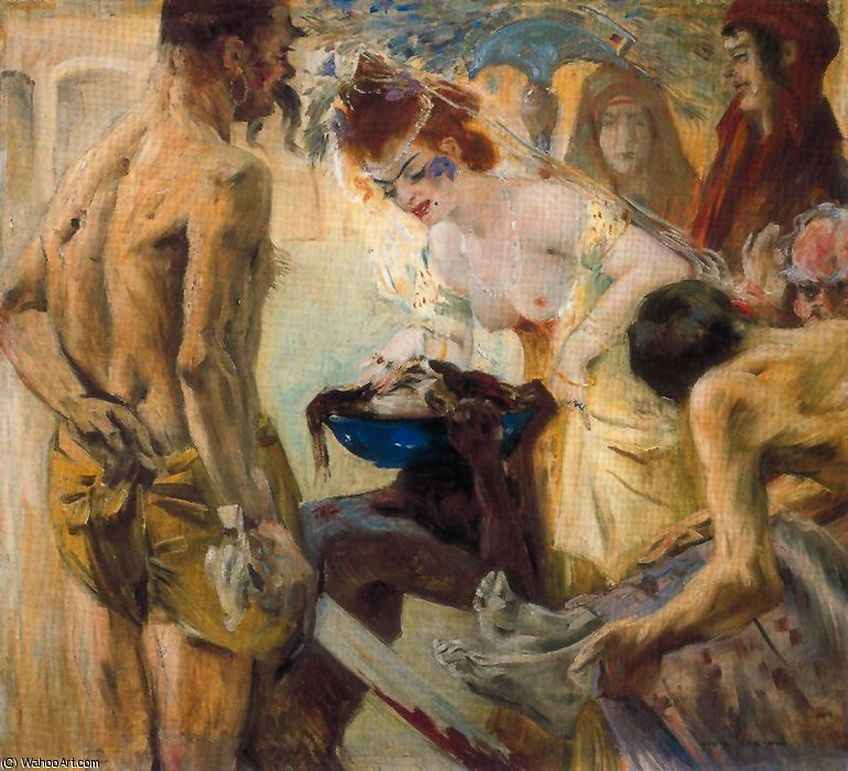 untitled (5492) by Lovis Corinth (Franz Heinrich Louis) (1858-1925, Netherlands) | Museum Quality Reproductions | WahooArt.com