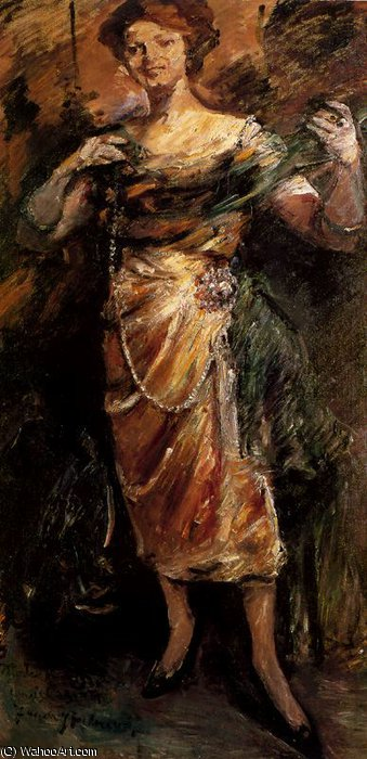 untitled (4025) by Lovis Corinth (Franz Heinrich Louis) (1858-1925, Netherlands)