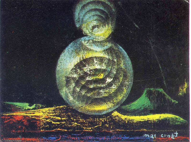 untitled (2217) by Max Ernst (1891-1976, Germany) | WahooArt.com