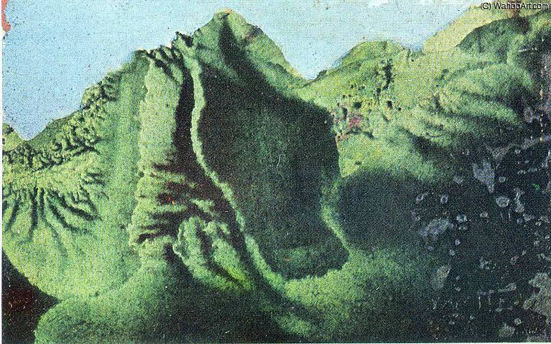 untitled (7684) by Max Ernst (1891-1976, Germany)