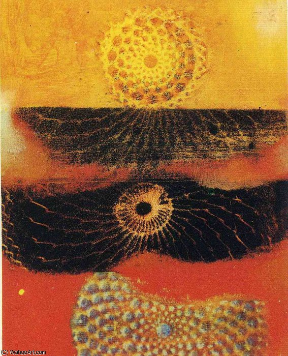 untitled (2967) by Max Ernst (1891-1976, Germany)