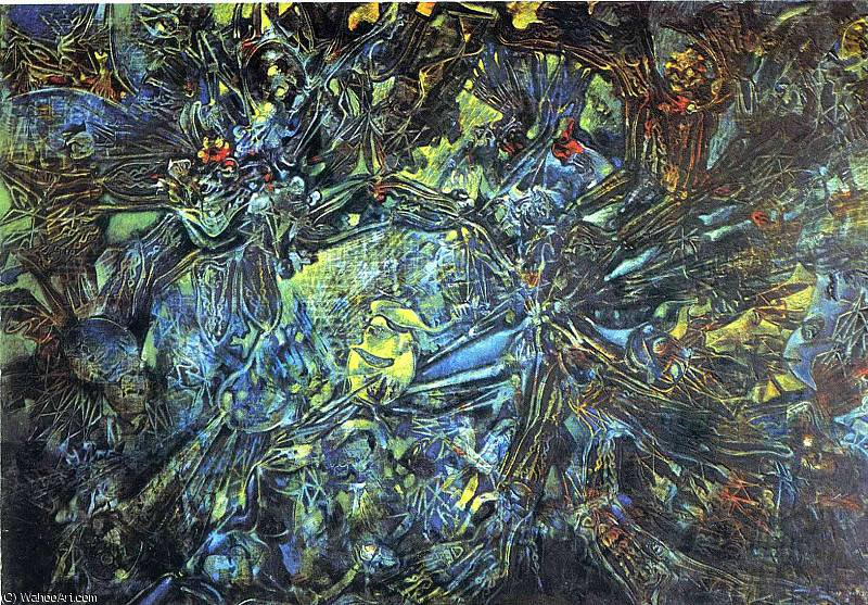 untitled (4887) by Max Ernst (1891-1976, Germany)