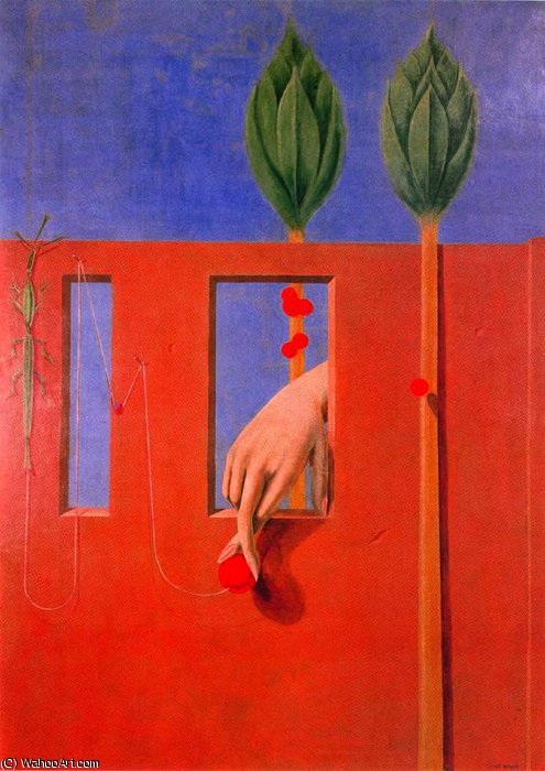 untitled (1260) by Max Ernst (1891-1976, Germany)