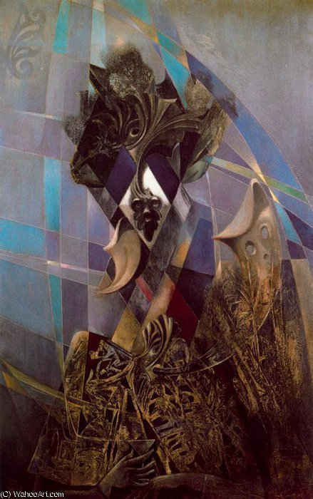 untitled (8170) by Max Ernst (1891-1976, Germany)