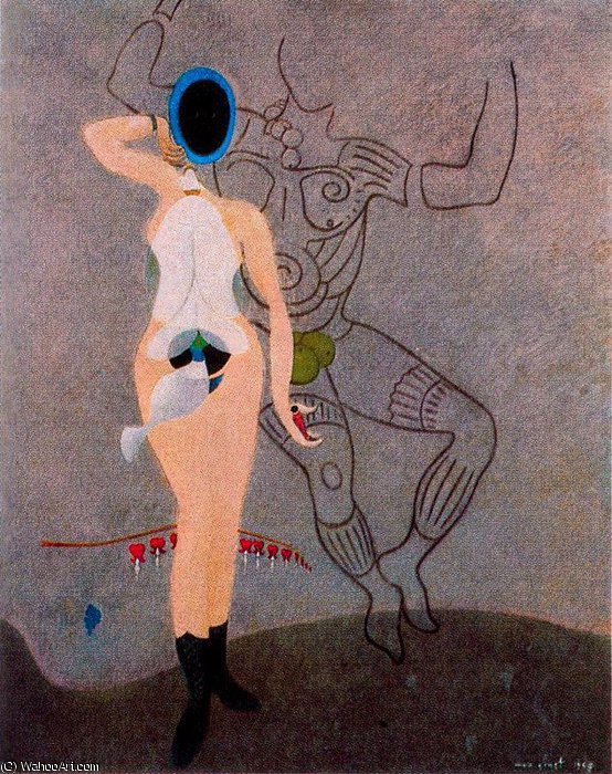 untitled (6697) by Max Ernst (1891-1976, Germany)