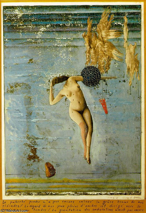 untitled (93) by Max Ernst (1891-1976, Germany)