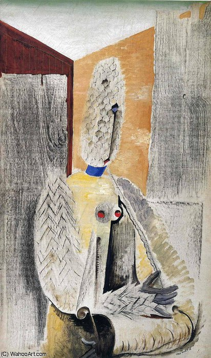 untitled (1754) by Max Ernst (1891-1976, Germany) | WahooArt.com